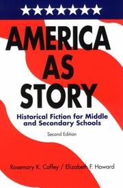 Cover of: America as story