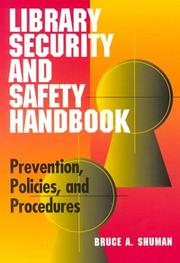 Cover of: Library security and safety handbook