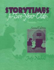 Cover of: Storytimes for two-year-olds