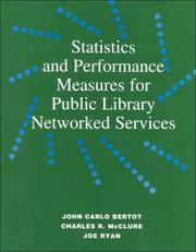 Cover of: A Guide for Using Statistics and Performance Measures | John Carlo Bertot