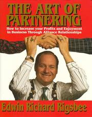 Cover of: The art of partnering