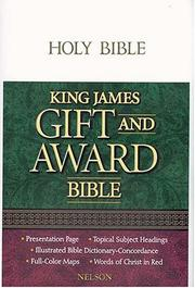 Cover of: Gift And Award Edition-kjv |