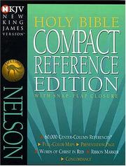 Cover of: Compact Reference Bible-snap Flap-nkj |