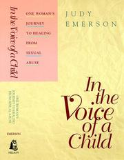 Cover of: In the voice of a child | Judy Emerson
