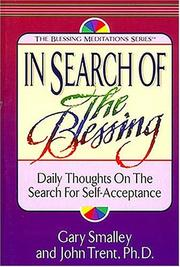 Cover of: In search of the blessing