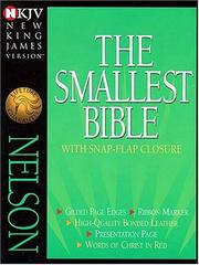 Cover of: The Smallest Bible |