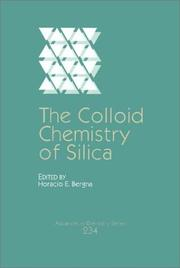Cover of: The Colloid chemistry of silica by