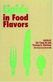 Cover of: Lipids in food flavors