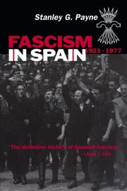 Cover of: Fascism in Spain, 1923-1977 by Stanley G. Payne