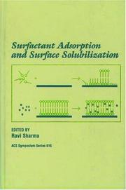 Cover of: Surfactant Adsorption and Surface Solubilization