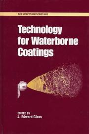 Cover of: Technology for waterborne coatings |