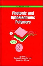Cover of: Photonic and optoelectronic polymers |
