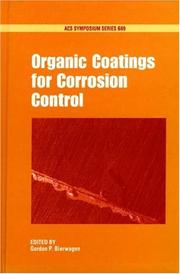 Cover of: Organic coatings for corrosion control |