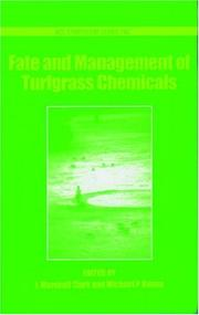 Fate and Management of Turfgrass Chemicals (Acs Symposium Series) by