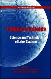 Cover of: Polymer Colloids | Eric S. Daniels