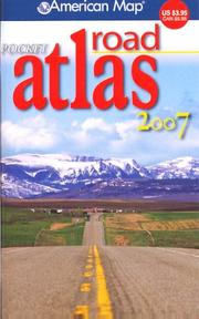 Cover of: American Map 2007 Pocket Road Atlas |