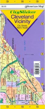 Cover of: American Map City Slicker Cleveland Vicinity, Ohio |