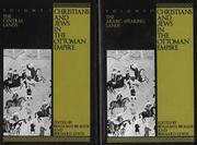 Cover of: Christians & Jews in the Ottoman Empire