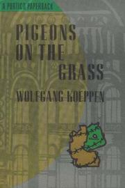 Cover of: Pigeons on the Grass