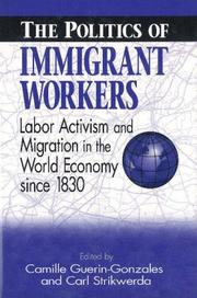 Cover of: The Politics of immigrant workers |