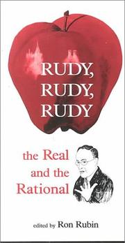Cover of: Rudy, Rudy, Rudy | Rudolph W. Giuliani