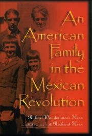 Cover of: An American family in the Mexican Revolution