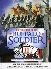 Cover of: On the Trail of the Buffalo Soldier II | Schubert Frank N.