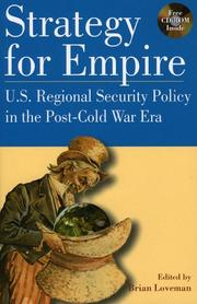 Cover of: Strategy for Empire