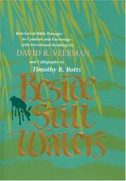 Cover of: Beside still waters | David Veerman