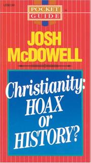 Cover of: Christianity: Hoax or History?