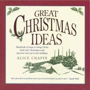 Cover of: Great Christmas ideas | Alice Zillman Chapin