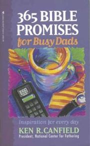 Cover of: 365 Bible promises for busy dads