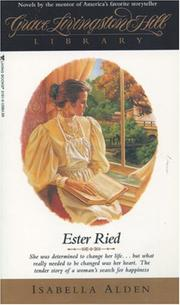 Cover of: Ester Ried (Grace Livingston Hill Library)