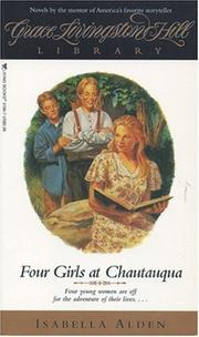 Cover of: Four Girls at Chautauqua (Grace Livingston Hill)