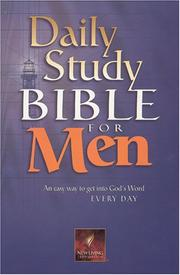 Cover of: Daily Study Bible for Men, burgundy bonded (Daily Study Bible for Men) |