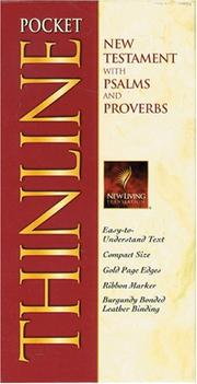 Cover of: Pocket Thinline New Testament (bonded burgundy) | Tyndale Publishers