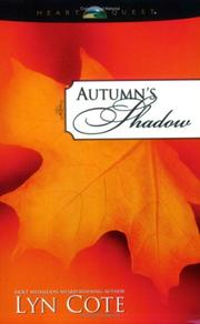 Cover of: Autumn's shadow