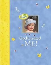 Cover of: God Created Me! (Little Blessings)