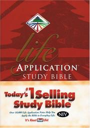 Cover of: Life application study Bible |