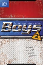 Cover of: The One Year Book of Devotions for Boys (One Year Book, 2) | Childrens Bible Hour