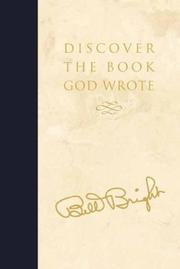 Cover of: Discover the Book God Wrote | Bill Bright