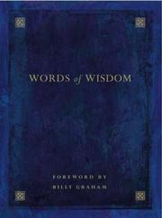 Cover of: Words Of Wisdom by Graham, Billy