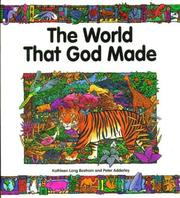 Cover of: The world that God made