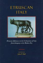 Cover of: Etruscan Italy |