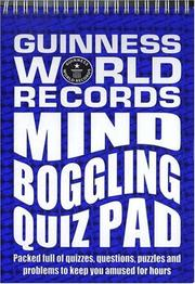 Cover of: Guinness World Records |