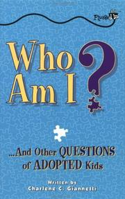 Cover of: Who am I? | Charlene C. Giannetti