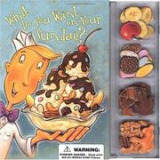 Cover of: What do you want on your sundae? | William Boniface