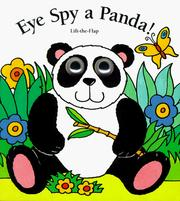 Cover of: Eye spy a panda!