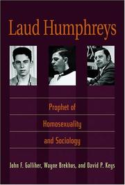 Cover of: Laud Humphreys | John F. Galliher, Wayne Brekhus, David P. Keys