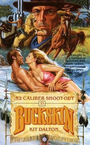 Cover of: .52 Caliber Shoot-out (Buckskin)